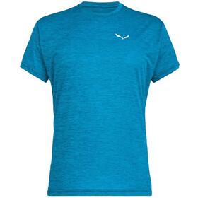 SALEWA Puez Melange Dry T-shirt Heren, blue danube melange